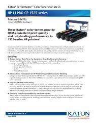 HP LJ PRO CP 1525-series - Katun