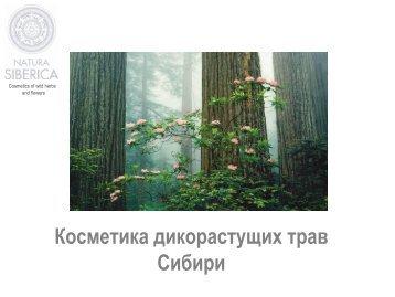 Katy Parfum - Natura Siberica