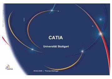 CATIA Universität Stuttgart