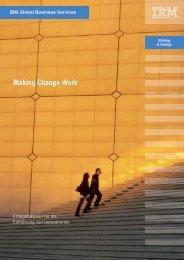 Making Change Work - IBM