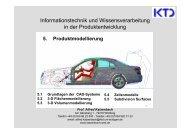 5. Produktmodellierung - von Alfred Katzenbach