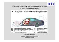 4. IT-Systeme im Produktentstehungsprozess - von Alfred Katzenbach