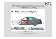 11. Wissensverarbeitende Systeme - von Alfred Katzenbach