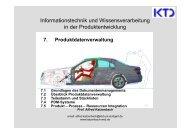 7. Produktdatenverwaltung - von Alfred Katzenbach