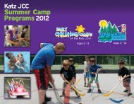 JCC Camps 2011 - Katz JCC