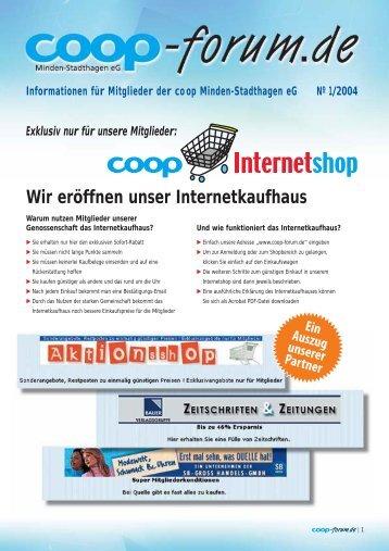 coop-forum 7 - co op Minden-Stadthagen eg