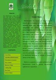 biobitsfebruary modified - Bioinformatics Centre, Kerala Agricultural ...