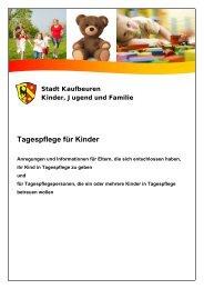 Tagespflege für Kinder [0,32 MB] - Stadt Kaufbeuren