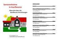 Broschüre Heime in Kaufbeuren [0,45 MB] - Stadt Kaufbeuren