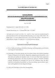 743. Grünanlagen- und Spielplatzsatzung - Stadt Kaufbeuren