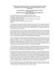 europos parlamento ir tarybos reglamentas (eb) - Kauno oro uostas