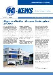 K-News_2_2012_Consumer Packaging - Kautex Maschinenbau