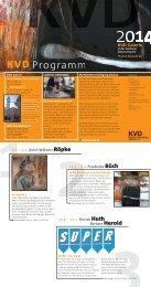 das Jahresprogramm der KVD 2014 als PDF - Künstlervereinigung ...