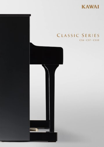 Kawai Classic Series brochure 2013 (Italiano)