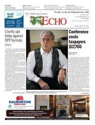 Haliburton Echo March 18, 2014