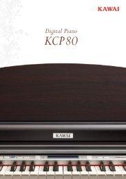 Kawai KCP80 Brochure (English)