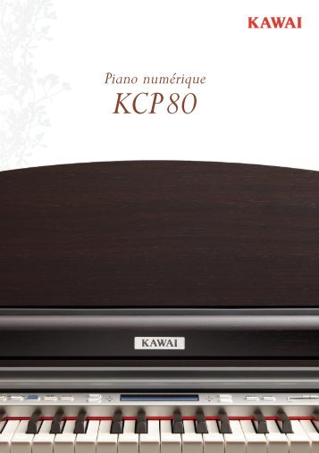 Kawai KCP80 Brochure (Français)