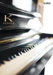 カタログ(アップライトピアノ総合)PDF ダウンロード - 河合楽器製作所