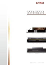 Kawai Products Catalogue 2013 Summer (Français / Italiano)