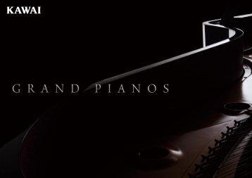 Kawai Grand Pianos brochure 2013 (English)