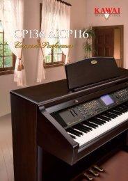 CP136 & CP116 CP136 & CP116 - Kawai