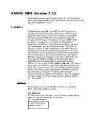KAWAI MP4 Version 2.12