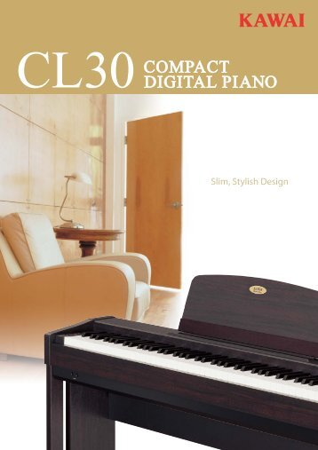 CL30 catalogue - Kawai