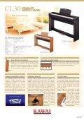 CL30 catalogue - Kawai - Page 2