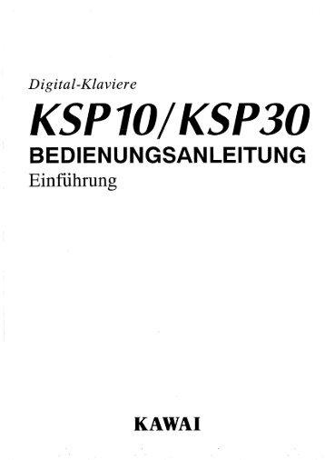 KSP 10/ K5P30 - Kawai