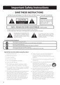 Kawai CS9 Owner's Manual (English) - Page 4