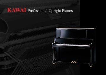 KAWAI Professional Upright Pianos