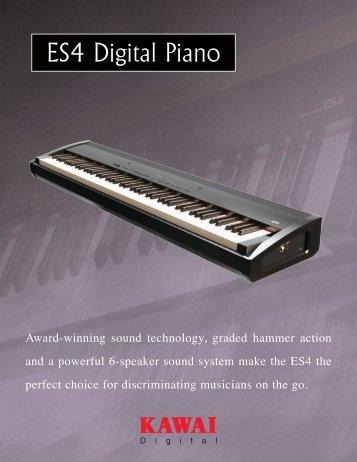 ES4 Digital Piano - Kawai