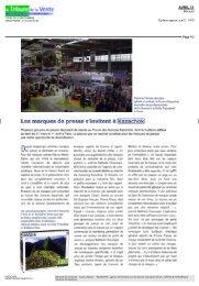 Les marques de presse s'invitent à Kazachok