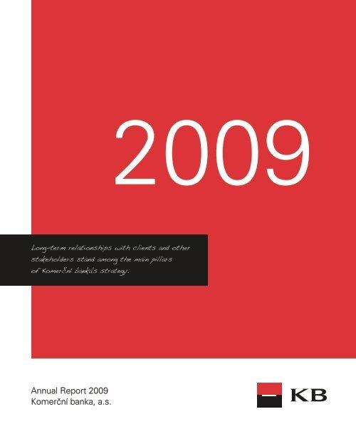 Annual Report 2009 (PDF file) - Komerční banka