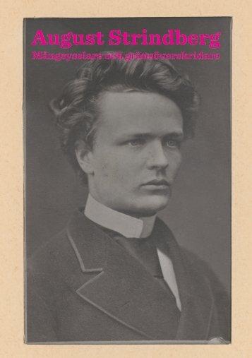 Strindberg flyer - Kungliga biblioteket
