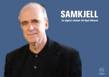 En digital vänbok till Kjell Nilsson - Kungliga biblioteket