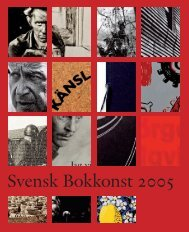 Svensk Bokkonst 2005 - Kungliga biblioteket