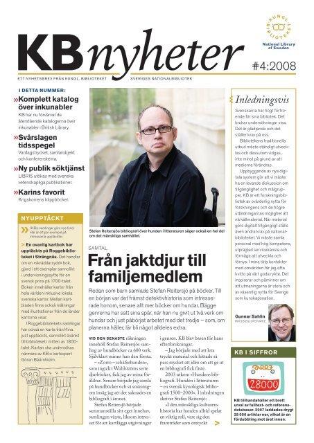KBNyheter nr 8, 2008