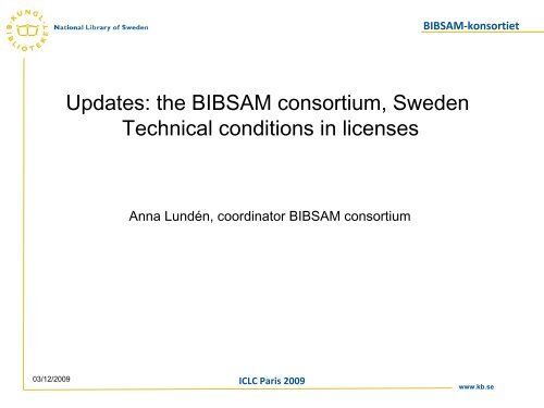BIBSAM-konsortiet