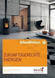 Zeitschrift «Klimawelten - Bären Haustechnik AG