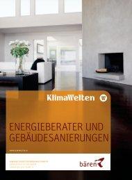 Energieberater und Gebäudesanierungen - Bären Haustechnik AG