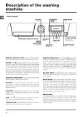 Instructions for use - Hotpoint - Page 4