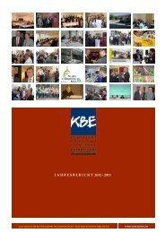 Hier gelangen Sie zum aktuellen Jahresbericht 2012-2013 - KBE