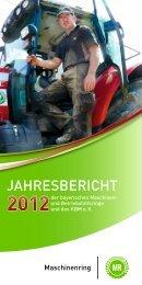 Jahresbericht - Kuratorium Bayerischer Maschinen