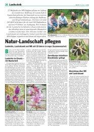Natur-Landschaft pflegen - Kuratorium Bayerischer Maschinen
