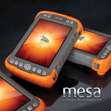 Mesa Brochure - Juniper Systems