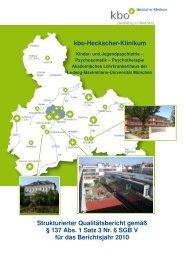 kbo-Heckscher-Klinikum - Kliniken des Bezirks Oberbayern