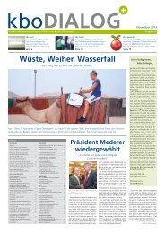Wüste, Weiher, Wasserfall - Kliniken des Bezirks Oberbayern
