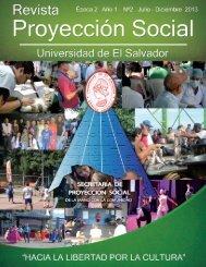 Revista proyeccion social segunda edicion