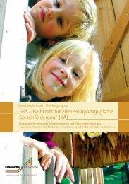 FelS – Fachkraft für elementarpädagogische Sprachförderung® (KA)